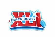 Super Bowl 41 XLI Football Helmet Decal Free Shipping
