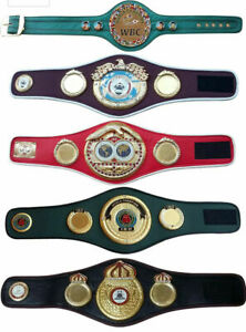 WBC WBA WBO IBF IBO Championships Boxing Belt Replica Mini 5 Belts