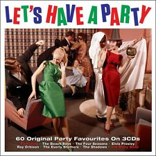 Let's Have A Party VARIOUS ARTISTS Best Of 75 Songs ESSENTIAL Music NEW 3 CD