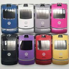 Refurbished Original Motorola Razr V3 Unlocked Cellphone Flip Mobile Phone Gsm