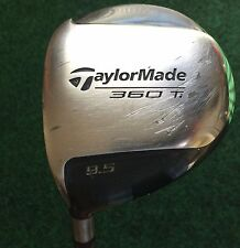 Left-handed Taylormade 360 Ti Golf Driver, 9.5*, Bubble R-80 Graphite Shaft