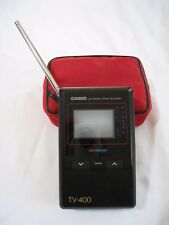 Casio TV-400 LCD Color Handheld Portable Television