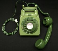 Vintage 1960s Retro GPO 706 Dial Telephone - 2 Tone Green - Fully Refurbished