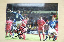 Signed Colour Pictures- TONY MOWBRAY,Footballer & Manager of Coventry City (7x5