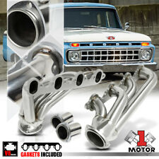 Stainless Steel Shorty Exhaust Header Manifold for 57-72 Ford F100 5.8/5.9/6.4