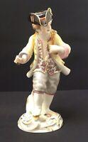 Meissen Gärtnerjunge mit Weinkiepe 1 Wahl Porzellan Figur Sammler Modell Kändler