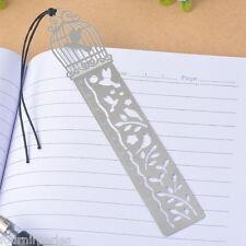 1 Marque-page Signet Creuse Cage Souverain Motif Corde de Cire 25x2.75cm
