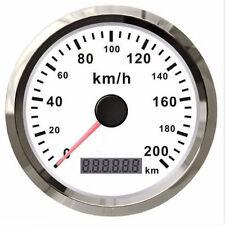 Universal KFZ GPS Tachometer Kilometerzähler Rostfrei Wasserdicht 200KM/H 12/24V