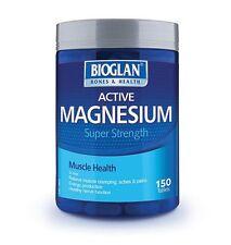 BIOGLAN ACTIVE MAGNESIUM 1000 SUPER STRENGTH 150 TABLETS MUSCLE ACHE PAIN CRAMPS