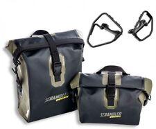 Ducati Scrambler Waterproof Panniers / Sidebags w/ Mounts # 96780751A/96780741A