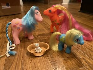 Lot My little pony g1 Cookery Sweet Delight Half Note Rockin Susie Best Friends
