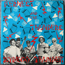 Fernest and The Thunders LP Record Hand Signed by Fernest, Ashby and Clarence