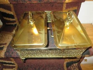 24K GOLD ELECTRO PLATED CHAFFING DISH--#RLP23A