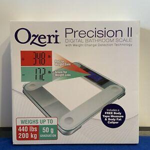 *NEW* Ozeri Precision II 440 Lbs (200 Kg) Bath Scale With 50g Sensor