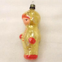 Vintage USSR Russian Glass Christmas Tree Ornament Xmas Decoration Astronaut