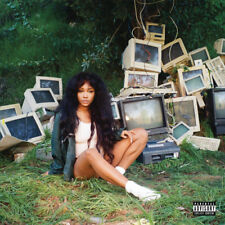 SZA - CTRL [New Vinyl LP] Explicit, Colored Vinyl, Gatefold LP Jacket, Green, 15