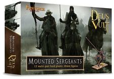 Mounted Sergeants Fireforge 28mm 12 mounted FIF-G3 Plastic Soldiers