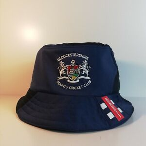 Gloucestershire County Cricket Bucket Hat made from Upcycled Official Shirt