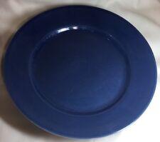 DESIGN HOUSE STOCKHOLM Solid Blue Dinner Plates Set Two (2)