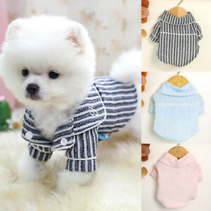 Dog Pajamas for Small Dogs Boy Girl Pet Puppy Chihuahua Clothes Soft Sleepwear