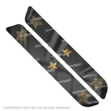 Saddlebag Reflector Decals For 93-13  Harley - GOLD SHERIFF BADGE - 087