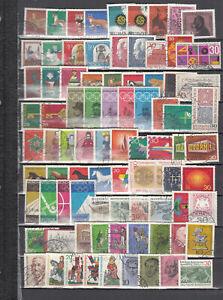 BRD 1967 -70 gest. 4 kompl. Jahrgänge  super Preis