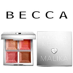 BECCA x Khloé Kardashian & Malika Bronze, Blush & Glow Palette 100% Authentic