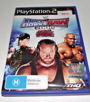 Smack Down Vs Raw 2008 PS2 PAL *Complete*