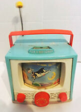 Vintage Fisher Price Peek A Boo Screen Musical TV