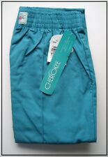 CHEROKEE TEAL LADIES TROUSER MEDICAL/CARER/DENTIST SCRUBS ELASTIC WAIST  10/12