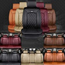 New Multicolor Luxury PU Leather Ford Mondeo Car Seat Cover Full Set Pad Cushion