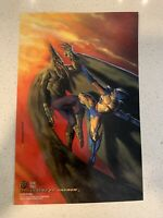 X-MEN 1994 FLEER ULTRA ULTRA PRINTS CASE TOPPER SET OF 4 JUMBO CARDS MARVEL