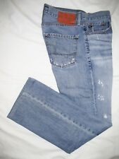 II>    BIG STAR   ~ Mens  UNION  Straight Blue Jeans ~ Sz 32 x 32 ~ EXCELLENT