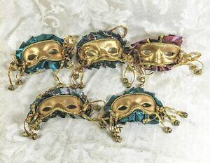 Clay Phantom of the Opera Venetian Masquerade Decorative Masks Halloween Decor