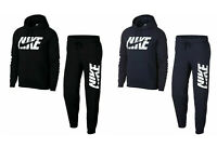 Nike NSW Mens Full Tracksuit Fleece Hooded Jogging Bottoms Joggers Top
