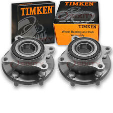 Timken Front Wheel Bearing & Hub Assembly for 2005-2012 Acura RL Pair Left wj