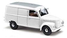 BUSCH Automodell Bausatz 1:87/H0 Kit Framo V90  1/2 Kastenwagen (weiss) #60253