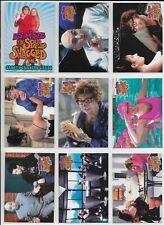 Austin Powers The Spy Who Shagged Me Complete 72 Card Base Set + Wrapper 1999