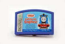 LEAPSTER THOMAS & FRIENDS CALLING ALL ENGINES LEARNING CARTRIDGE WORKS GREAT!