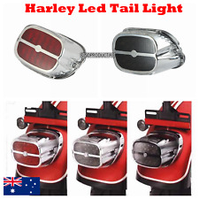 Motorcycle LED Brake License Plate Tail Light Harley DYNA Sportster Softail XL