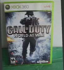 Xbox 360 Call of Duty World at War Used
