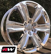 "22 x9"" RW Wheels for Ford F150 2015 2019 Platinum Style Chrome Rims 6x135 +44"