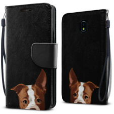 For Samsung Galaxy J7 J737 2018 Leather Flip Wallet Kickstand Cover Pouch Case
