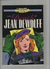 The Death Of Jean DeWolfe - Amazing Spider-Man TPB - 1990 (Grade 9.2) WH