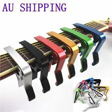 Premium Alloy Capo Quick Change Trigger Clamp for Guitar Banjo Ukulele Mandolin