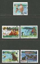 Sweden 2006 Summer at the Lake-Attractive Topical (2535, 2536a-d) fine used