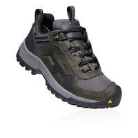 Keen Mens Basin Ridge Waterproof Walking Shoes Green Sports Outdoors Breathable