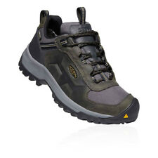 Keen Mens Basin Ridge Waterproof Walking Shoes Green Sports Outdoors Breathable