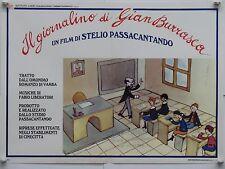 IL GIORNALINO DI GIAN BURRASCA animazione di Passacantando fotobusta 1991