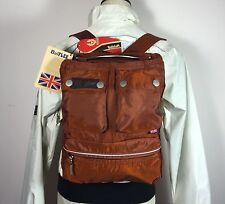 Authentic Belstaff Lady Backpack Bag Rust Belflex NWT